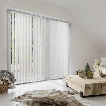 Vertical Blind Panel H260 Alaska White 89mm