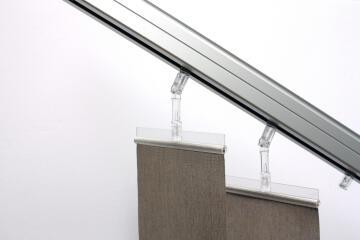 Blind Panel Ball Hooks L11 Transparent Set of 10
