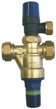 Control valve KWIKOT mono 22mm 600kpa