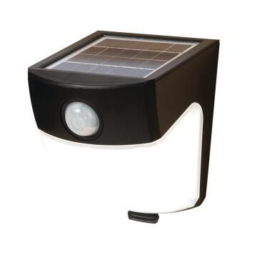 SOLAR 120° MOTION FOOT/L BLK 300LM
