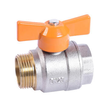 TEE BALL VALVE INT FL EQ MXF 3/8