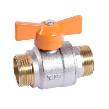 TEE BALL VALVE INT FL EQ MXM 3/4