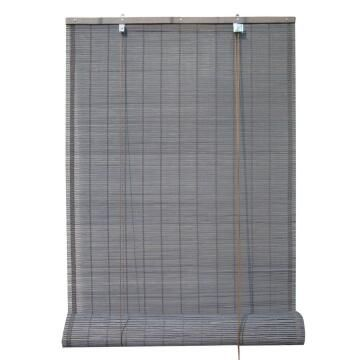 Roll Up Blind INSPIRE Bamboo Djibouti Dark Grey 120x230cm