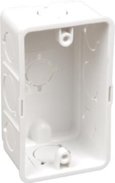 Wall box 100x50mm white