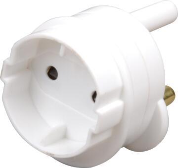 Adaptor 3 pin to schuko