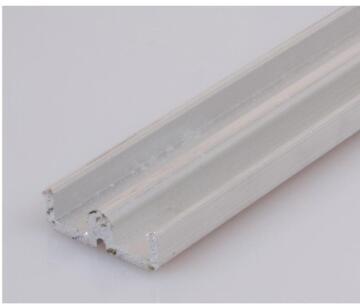 Sliding Mechanism Accessory Aluminium Bottom Track 815A Silver 2400mm