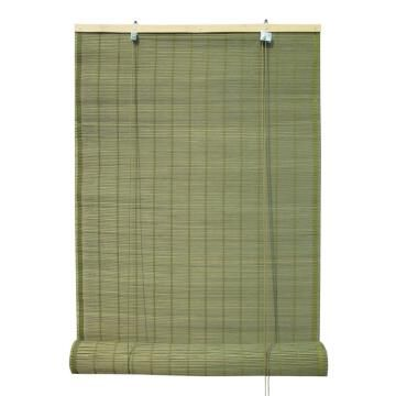 Roll Up Blind INSPIRE Bamboo Dark Green 180x230cm