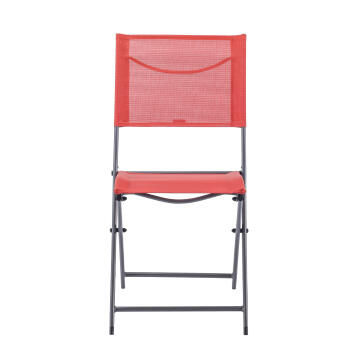 Chair Emys Origami Steel Cocktail Red NATERIAL