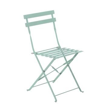 Chair Flora Origami Steel Cactus Green NATERIAL