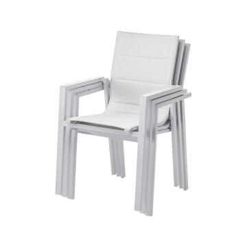 Chair Orion Gamma Armchair Aluminium Light Grey NATERIAL