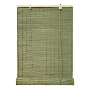 Roll Up Blind INSPIRE Bamboo Djibouti Dark Green 60x230cm