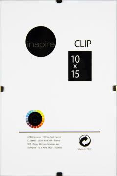 CLIP FRAME INSPIRE 10X15CM