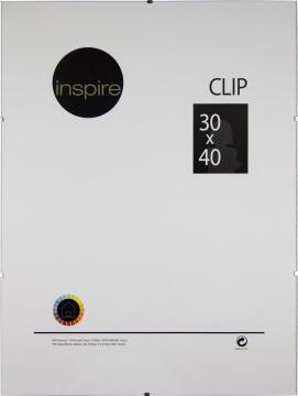 CLIP FRAME INSPIRE 30X40CM
