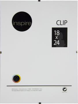 CLIP FRAME INSPIRE 18X24CM