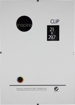 CLIP FRAME INSPIRE 21X29.7CM