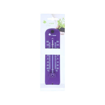 Thermometer Color Metal 20 X 5 Cm