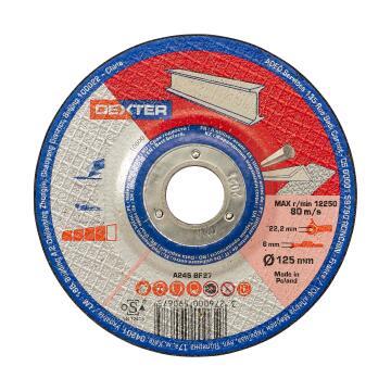 Cutting Disc Dexter Metal/Inox 125X6X22,2Mm