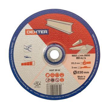 Cutting Disc Dexter Metal/Inox 230X3X22,2Mm