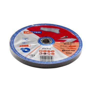 Cutting Disc Dexter Metal/Inox 230X3X22,2Mm 5 Pieces