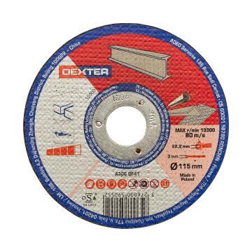 Cutting Disc Dexter Metal/Inox 115X3X22,2Mm