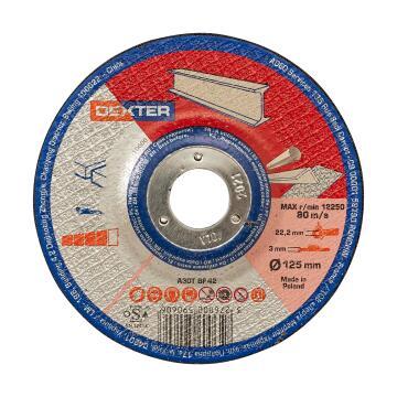 Cutting Disc Dexter Metal/Inox 125X3X22,2Mm