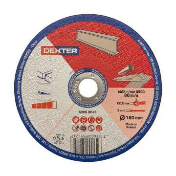 Cutting Disc Dexter Metal 180X3X22,2Mm