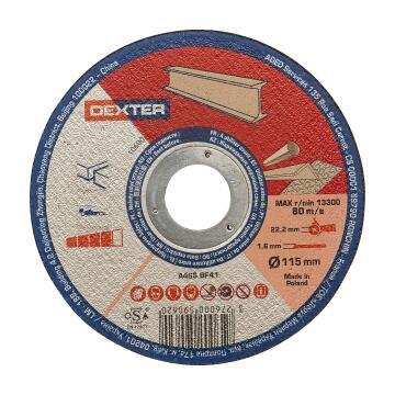Cutting Disc Dexter Metal/Inox 115X1,6X22,2Mm