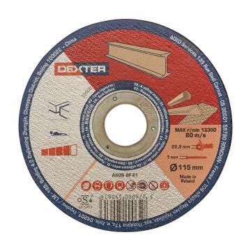 Cutting Disc Dexter Metal/Inox 115X1X22,2Mm