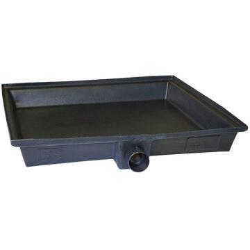 Geyser tray vertical mount