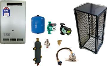 Gas Boiler SAPPHIRE 150 Sqr Meter