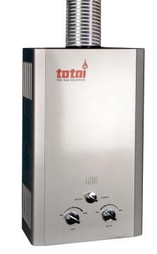 Gas geyser TOTAI 20l battery operated