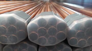 Copper pipe 15mm x 4m class 0
