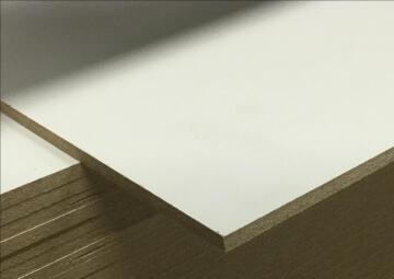 Board Hardboard White/Brown 3mm thick-2440x1220mm