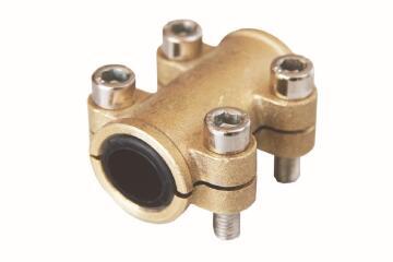 Clamp tube repair brass 54mm