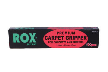 Carpet tack strip 1200mmx25x6.5mm ROX