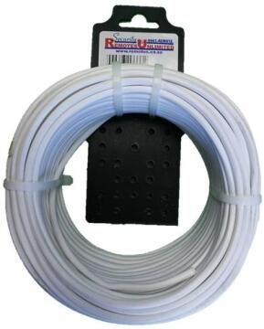 Communication cable for alarm 8 core white 25m