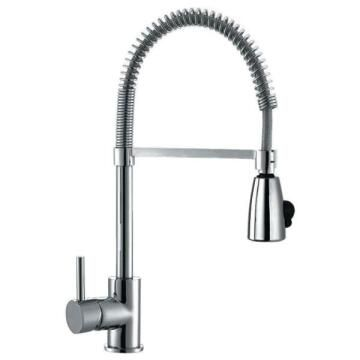 Kitchen tap lever mixer with flexible spray FRANKE Cascade Pro chrome