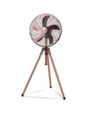 RUSSEL HOBBS TRIPOD FAN COPPER
