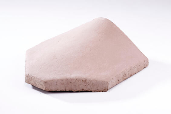 Concrete Roof Tile Butt Joint Hip Starter Brown MARLEY