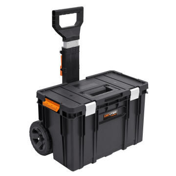 Toolbox on wheels DEXTER Pro Qbrick System 2 stackable 38L