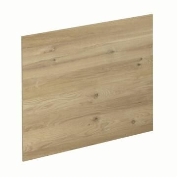 Kitchen splash back laminate Concrete/Boreal Oak L300mm x H64mm x T8mm