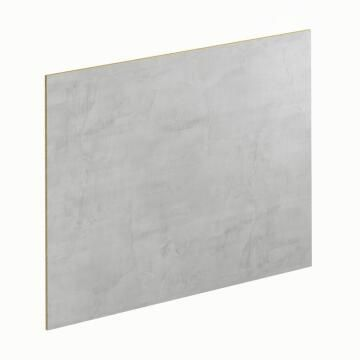 Kitchen splash back laminate Planky White/Light Concr L300mm x H64mm x T8mm