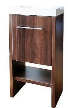 Basin cabinet 1 door Philly wallnut 450MM