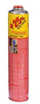 Gas cartridge Propane/Butan ROTHENBERGER Multi gas 300 600ml