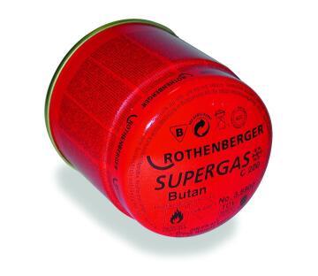 Pierceable butane cartridge with propane ROTHENBERGER C200 gas