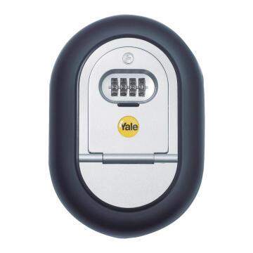 Combination key access box yale