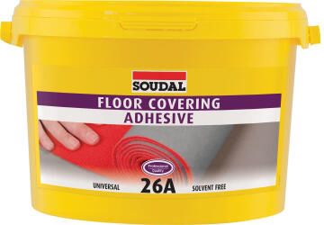 Floor Covering Adhesive SOUDAL 26A 1kg
