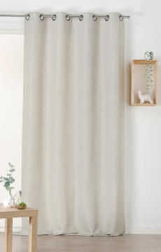 CURTAIN AIR-PURIYING GREY 135X240CM