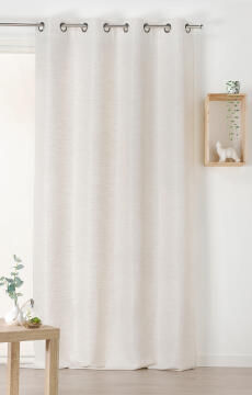 CURTAIN AIR-PURIYING BEIGE 135X240CM