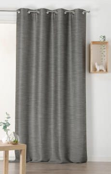 CURTAIN AIR-PURIYING BLACK 135X240CM